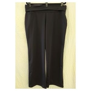 Adidas ATS Cool Dry Curvy Fit Wide Leg Yoga Pant